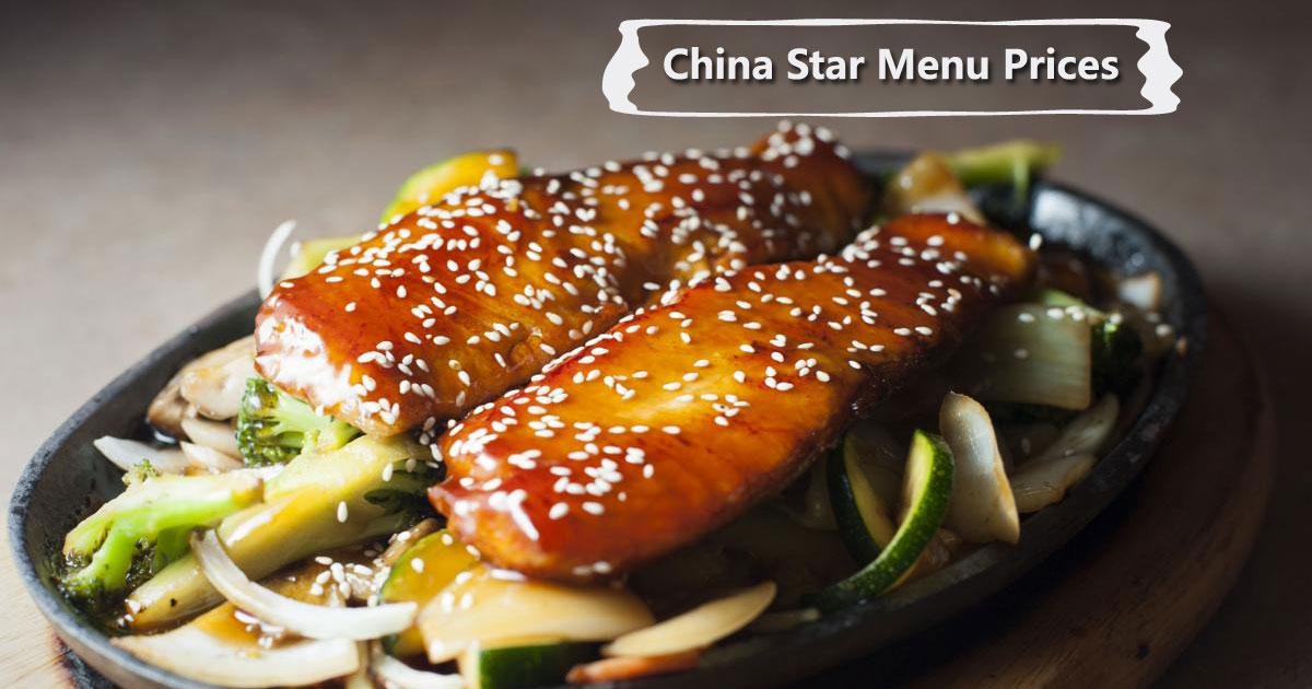 China Star Menu Prices Image