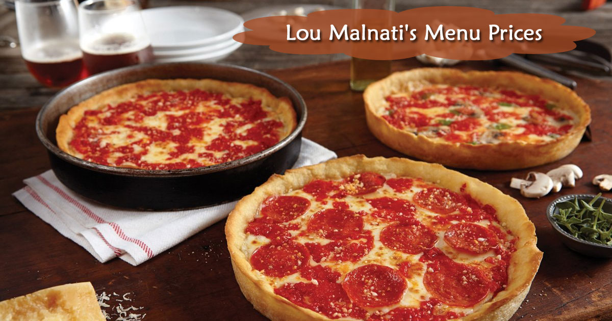 Lou Malnati's Menu Prices Image