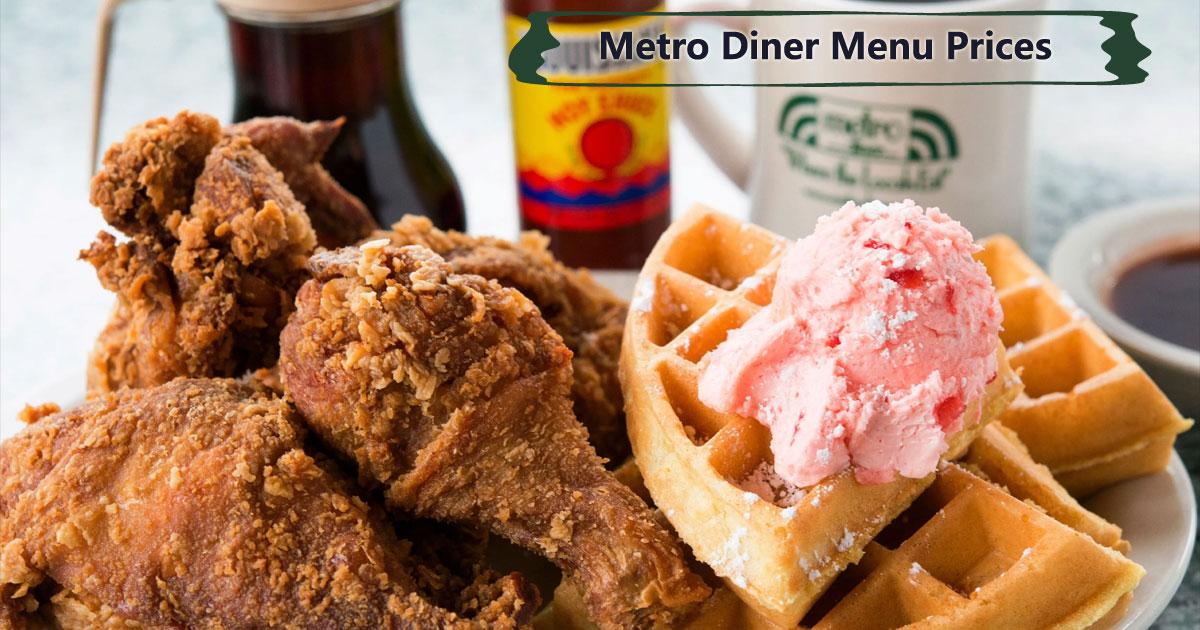 Metro Diner Menu Prices Image